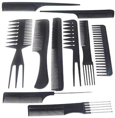 Gearmax® Estilistas Profesionales de peluquería Barberos peines Cabello...