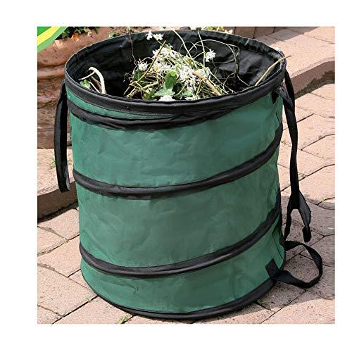 LJIANW GardenMate, 600D Tela Oxford con Alambre de Acero Tarea Pesada Plegable Jardín Bolsas Reutilizables Ideal for Desechos de jardín Jardinería Almacenamiento Al Aire Libre Ocupaciones