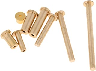 D DOLITY Golf Brass Plug Weights for Steel Wood Steel Iron Shafts 2,4,6,8g 8pcs/Pack