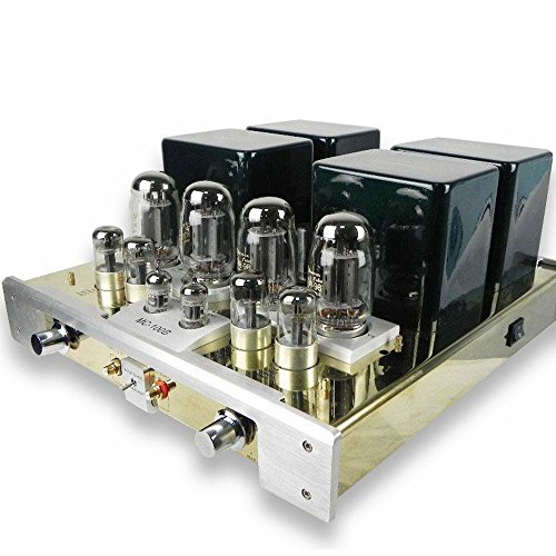 YAQIN MC-100B KT88 Class A Vacuum Tube Valve Audio Integrated Push-Pull Power Amplifier AMP 50W