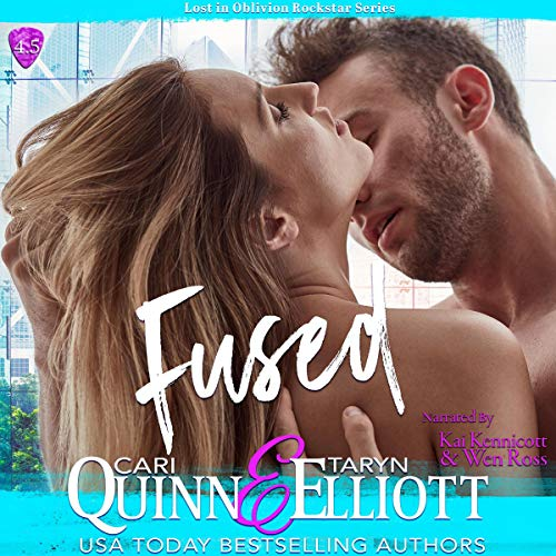 Fused audiobook cover art