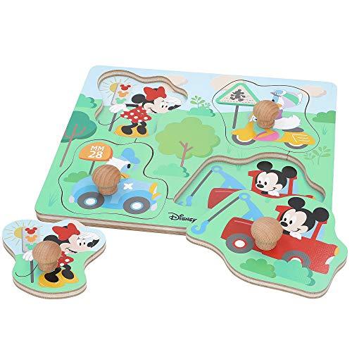 Disney - Puzzle infantil niños 1 año Puzzle infantil 5 Pie
