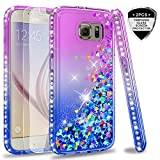 LeYi Case for Galaxy S6 with Glass Screen Protector [2