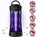 seenlast Lámpara Matamoscas Electrico, luz UV Lámpara Repelente Zapper de Mosquitos Mosca, Trampas para Insectos Mosquito Killer para Mata Mosquitos, Insectos, Polillas, Moscas
