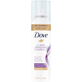 Dove Care Between Washes Dry Shampoo Hair Treatment for Oily Hair, Volume and Fullness Cleansing Hair Volumizer 5 oz