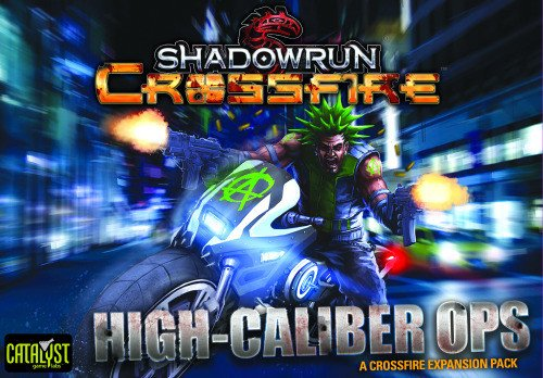 Catalyst Game Labs CAT27703 Kartenspiel Shadowrun: Crossfire Mission Pack #1: High Caliber Ops
