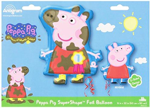 Amscan Peppa Pig dubbelzijdige folieballon