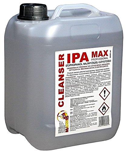 MARWIS Alcool ISOPROPILICO IPA DETERGENTE Pulizia 5LT Puro 99,9% Etichetta in Italiano