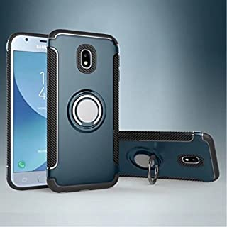 Protective Case Compatible with Samsung Protection Case with 360 Degree Rotating Finger Ring Holder and Magnet Car Holder Case Compatible Samsung Galaxy J3 Pro 2017 J330 (European Version) Phone case