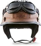 MOTO Helmets D33 - Juego de gafas y casco de moto