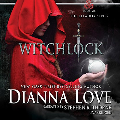Witchlock audiobook cover art