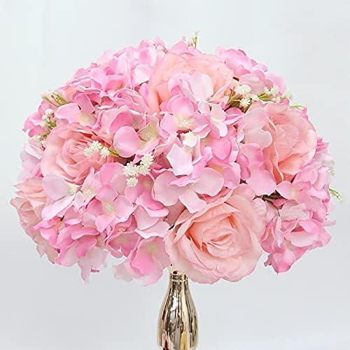 Soldering ARGYJAE Customize 35 40 50CM Ranking TOP5 Gypsophila Rose Artificia Hydrangea