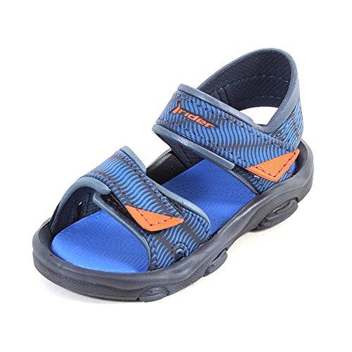 Raider Chanclas Rider RS 2, Zapatillas de Deporte Unisex niño, Multicolor (Azul R81693/21724), 19 EU