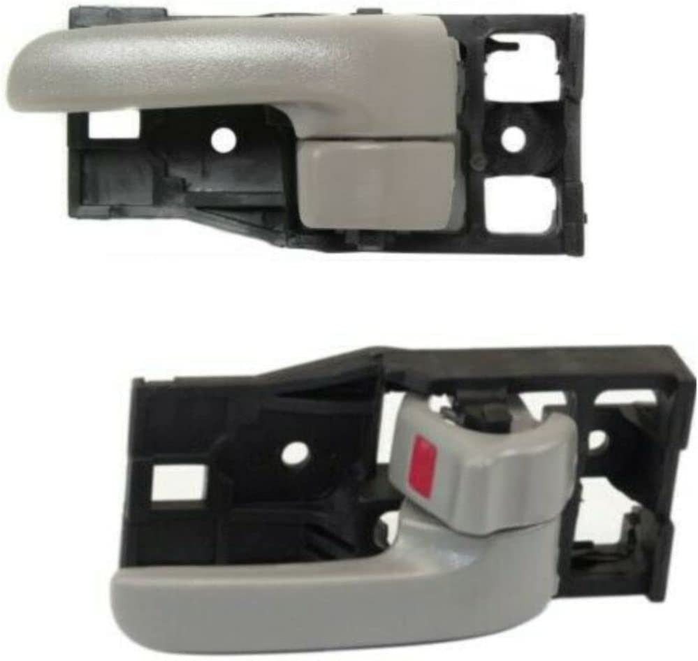 TYUT Door Handle Set Compatiable Inner Special sale item Deluxe Front With Gray Charcoal