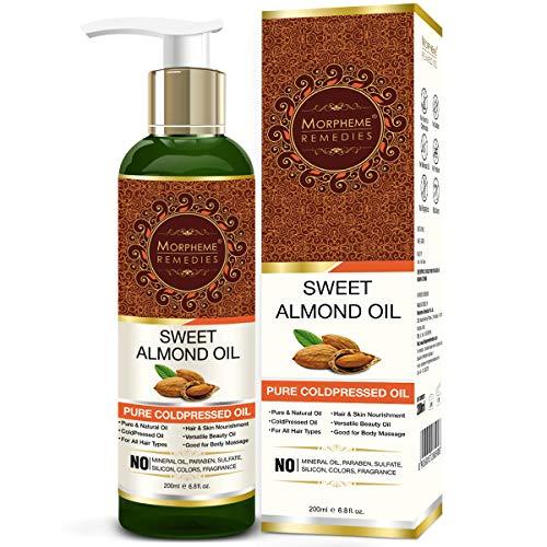 Morpheme Remedies Cold Pressed Sweet Almond Oil, 200ml