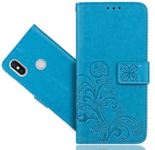 Xiaomi Redmi S2 Handy Tasche, FoneExpert® Wallet Hülle Cover Flower Hüllen Etui Hülle Ledertasche Lederhülle Schutzhülle Für Xiaomi Redmi S2