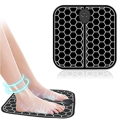 MATEHOM Masajeadores eléctricos para pies - Pulsos de Baja Frecuencia Estimulación Muscular...
