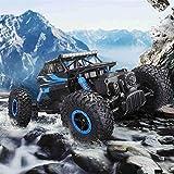 Kikioo 1:18 RC Coches campo a través del escalador de roca camión vehículo 4WD alta velocidad coches...