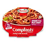 Hormel Compleats Sauces, Spaghetti & Meat Sauce, 7.5 Ounce (Pack of 6)