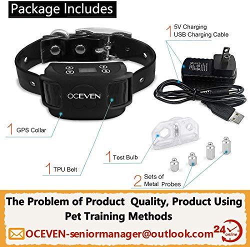 OCEVEN Wireless Dog Fence System-Wireless Pet Fence-Wireless Containment System for Dogs for Outdoor...