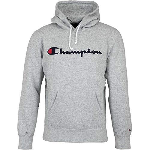 Champion Sudadera con logotipo. gris XL
