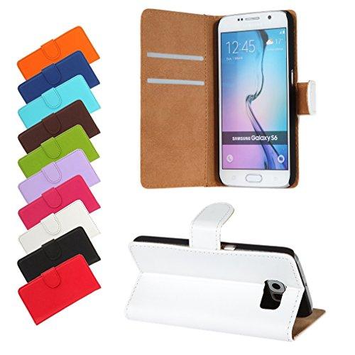 BRALEXX Huawei P9 Lite 2016 / P9 Lite 2016 Dual SIM Bookstyle-Tasche Hülle Hülle Schutz WEIß (zum Aufstellen, 2x Kartenfach, 1x Geldfach, Silikon-R&umschutz-Innenschale)