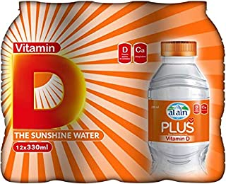 Al Ain Plus Vitamin D Water - Pack of 12 x 330ml