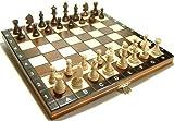 Schach Schachspiel Schachset aus Holz Kassette -