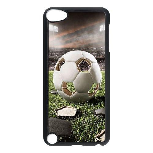 LSQDIY (R Palla da Calcio iPod Touch 5Personalized Case, Customised iPod Touch 5Case Palla da Calcio