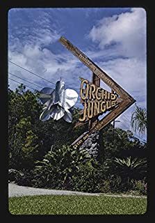HistoricalFindings Photo: Orchid Jungle Sign,Homestead,Florida