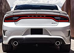 2015 2016 2017 2018 Dodge Charger Hellcat Spoiler Also fits the 2011-14 Model Years 3yr/36,000 Mi Warranty Deluxe Hardware Kit Included Installation Instructions Included