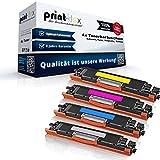 Print-Klex - Juego de 4 cartuchos de tóner compatibles con HP Color LaserJet Pro MFP M176n Color Laserjet Pro M177fw CF350 CF351 CF352 CF353