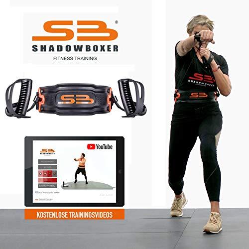 Shadowboxer Home Fitness System, schwarz, mit kostenlosen Trainingsvideos, HIIT Cardiotraining