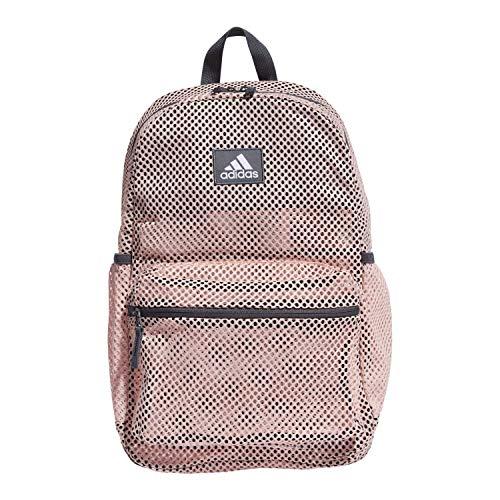 adidas Hermosa II Mesh Backpack, Haze Coral/ Onix, OSFA