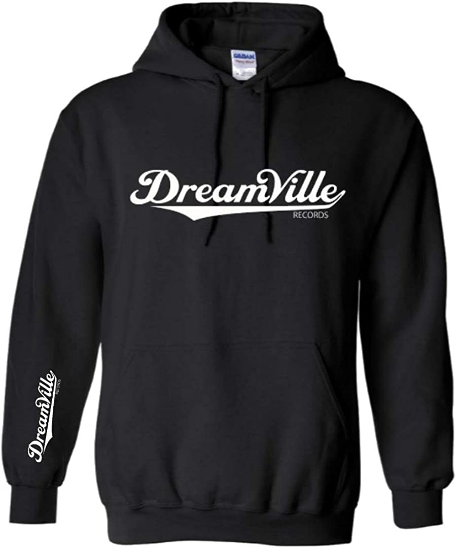 Dreamville Unisex Hooded Sweater with sleeve print Pullover Hoodie