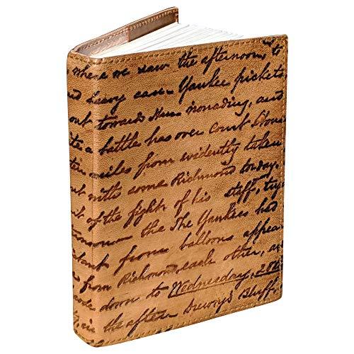 Primera calidad hecha a mano Libreta de Notas Diario Libro de Recetas Vintage y estilo antiguo Mujer Hombre Universidad Trabajo Oficina Uso Diario Papelería Un regalo de artistas indios.