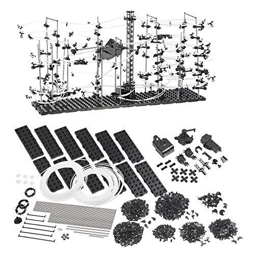 Playtastic Circuit à Bille Montagnes Russes - 682 pièces