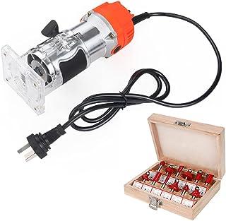 XDXDO Träskärare 1/4 tum elektrisk handskärare trä laminat palm router joiners Tool Enhet 3000RPM elektrisk trä handskärar...