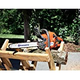 Husqvarna 967108411 130 16 in. 38cc 2-Cycle Gas Chainsaw Orange/Gray