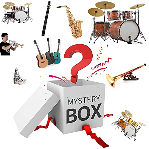 ZRSHBBAD Vokkrv Mystery Box Lucky Box Mystery Boxes Can be Opened: The Latest Mobile Phones, Dones, Smart Watches, Air Purifiers etc - Everything is Possible!,002