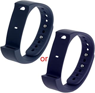 MEIYIN Smartwatch Bands Replacement TPU Band Strap Wristband for Iwown I5 Plus Sports Smart Bracelet