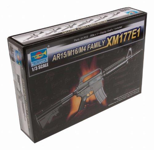Trumpeter 01902 Modellbausatz AR15/M16/M4 FAMILY-XM177E1
