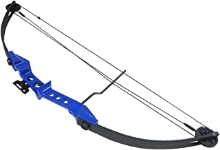 19-29 lb Black/Blue Archery Hunting Compound Bow +Quiver +Armguard +2 26