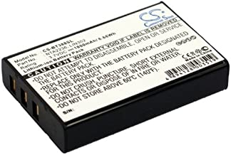 Upgrade/Cameron Sino Battery for OnCourse SiRF Star III GPS, Navigator Battery Li-ion 1800mAh / 6.66Wh