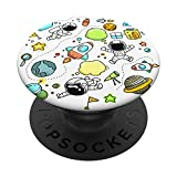 Space Explorer Pop Socket - Planets / Rockets / Astronaut PopSockets Grip and Stand for Phones and Tablets