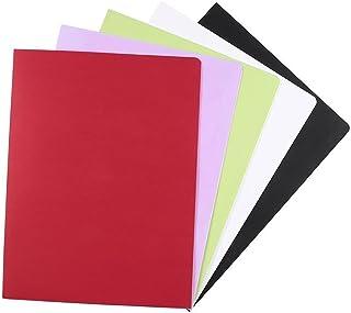 12 PCS A4 2Pockets Kraft Paper Fileder Dossier Brown Porte-documents Dossier de fichier de projet Dossier de présentation ...