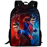 Mochilas He-nRY Dan-GE-R Pattern School Backpack Cartoon Anime Cosplay Children Custom Backpack...