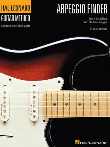 Hal Leonard Guitar Method Arpeggio Finder (Johnson): Lehrmaterial für Gitarre