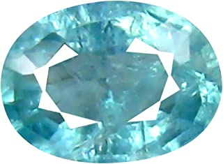 Deluxe Gems 0.29 ct Oval Cut (5 x 4 mm) Unheated/Untreated Greenish Blue Grandidierite Natural Gemstone