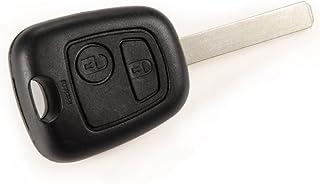 Radiosleutelbehuizing voor Peugeot 207 307 407 107 307 SW 308 2 toetsen